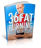 FREE Book 36 Fat Burning Foods