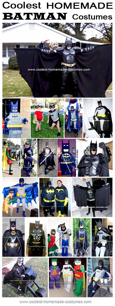 Homemade Batman Costume Collection - Coolest Halloween Costume Contest