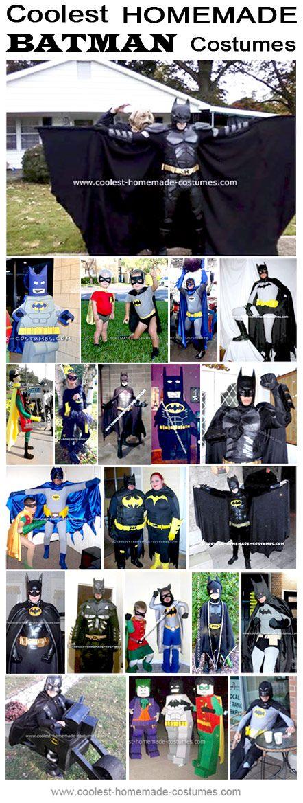 Homemade Batman Costume Collection - Coolest Halloween Costume Contest