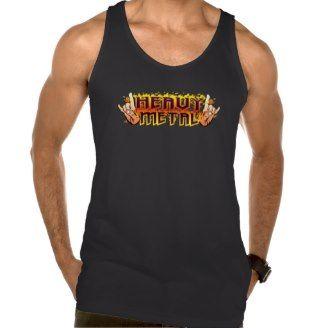 Metal Horns Up Tee Shirt Design