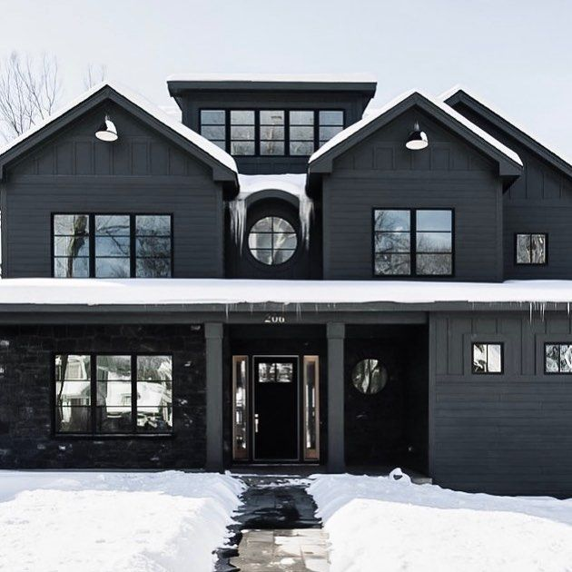 Bombardier Designs On Instagram This House Pinterest Dream House Exterior House Designs Exterior Black House Exterior