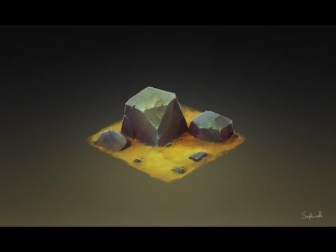 How to Draw for Games #12 | Isometric Stone - YouTube ★ Find more at http://www.pinterest.com/competing/