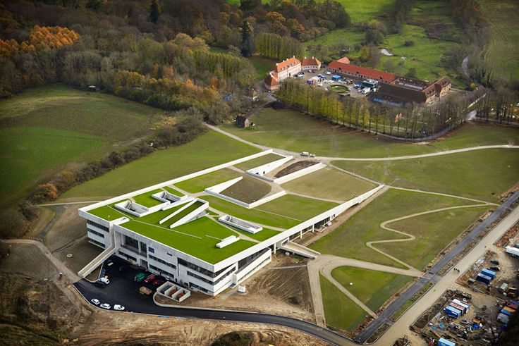 henning larsen architects angles the new moesgard museum