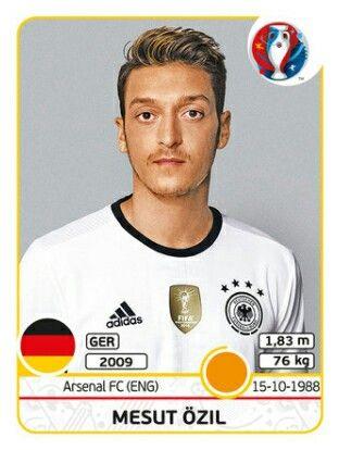 Mesut Özil - Alemania - EURO 2016