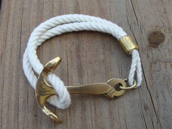 Dance to the Radio: DIY: Anchor Bracelet