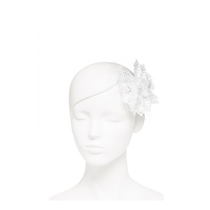 Flower Lace And Net Hair Clip