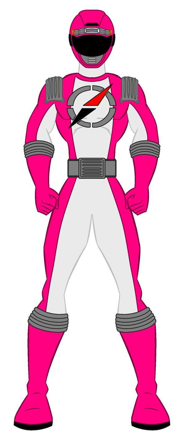 15. Power Rangers Operation Overdrive - Pink Range by PowerRangersWorld999
