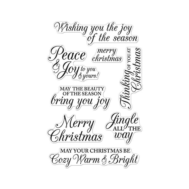 CL722 Merry Christmas Messages
