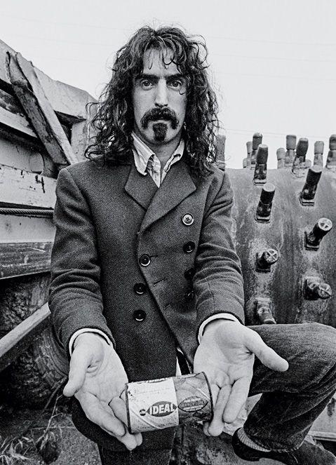 Frank Zappa - When Rock Stars Wear Suits - T Magazine