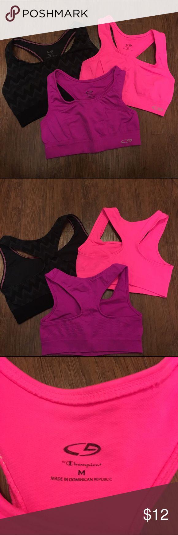C9 Champion Sports Bras Size M Preowned C9 Champion sports bra bundle from target. All are Size M. Champion Intimates & Sleepwear Bras