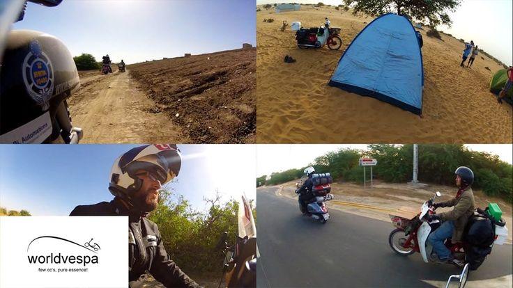 Senegal - Around the world on a Vespa  #VespaClub Volos http://vespaclubvolos.com/