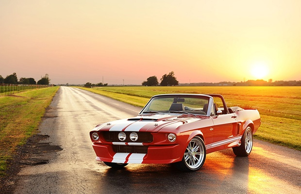 The Classic Recreations Shelby G.T.500CR Convertible