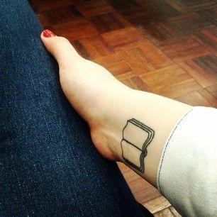36 incríveis tatuagens para amantes de livros