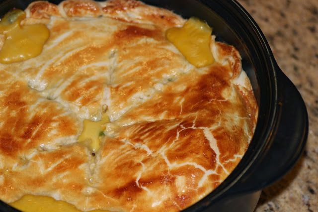 RockCrok Chicken Pot Pie | Dish Over Dinner