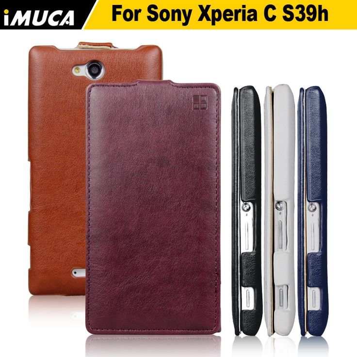 for Sony Xperia C2305 Case Flip Pu Leather Cover for Sony xperia C S39h C2305 Phone Cases Cover iMUCA Mobile phone bag