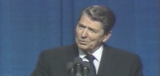"CLASSIC: Ronald Reagan Absolutely NAILS Democrats With This ""Dirty"" Joke [VIDEO] - http://conservativeread.com/classic-ronald-reagan-absolutely-nails-democrats-with-this-dirty-joke-video/"