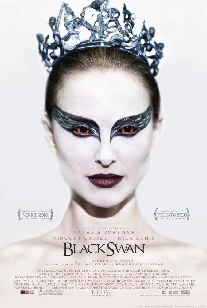"""Directed by Darren Aronofsky.  With Natalie Portman, Mila Kunis, Vincent Cassel, Winona Ryder. A committed dancer wins the lead role in a production of Tchaikovsky's """"Swan Lake"""" only to find herself struggling to maintain her sanity."""