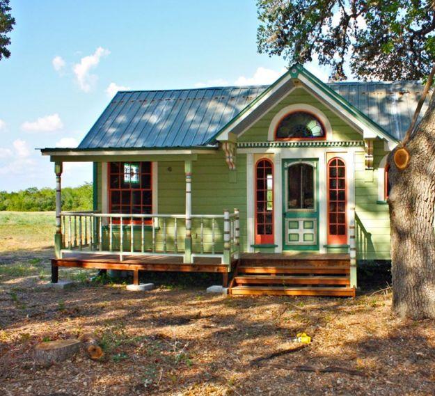 14 amazing tiny homes mini maison petite maison et minis for Minimaliste mini maison