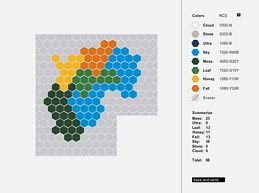 plan a hexagon design using this fun tool!