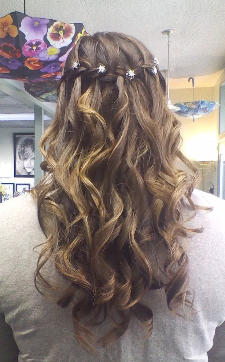 Cute Easy Hairstyles For School Dances : Cute hair styles for th grade dance google search