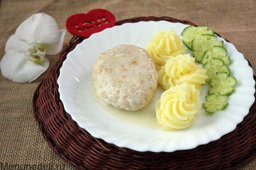 Зразы куриные с омлетом и овощами как в детском саду