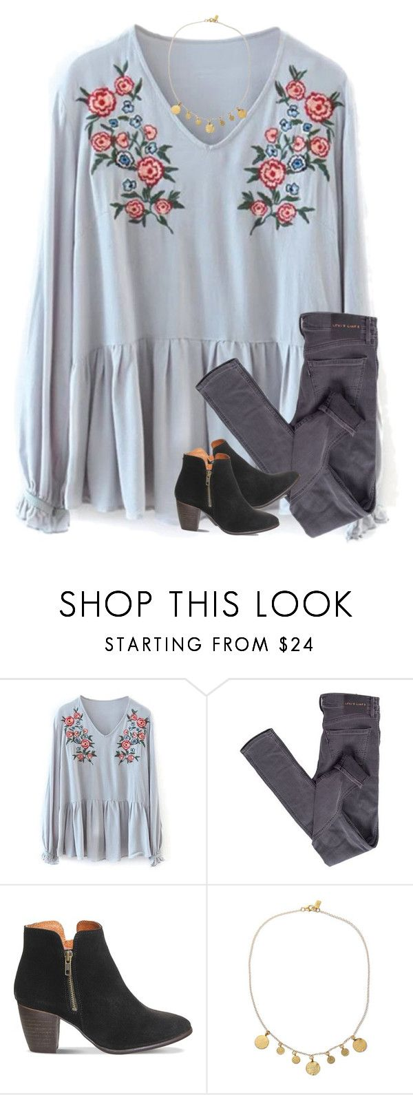 """""""ugh my ex keeps texting me"""" by southerngirl03 ❤ liked on Polyvore featuring Levi's, Office and Electric Picks"""