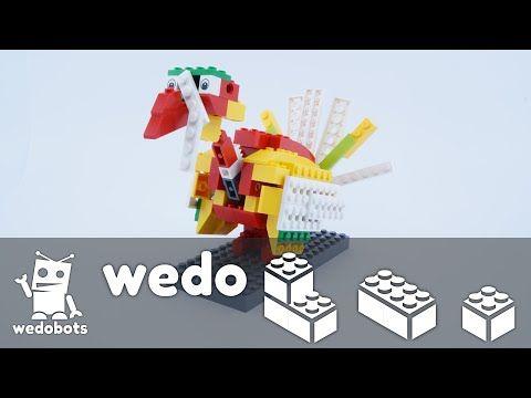 wedobots: LEGO® WeDo designs for the busy teacher: Playful Turkey Video Instructions!