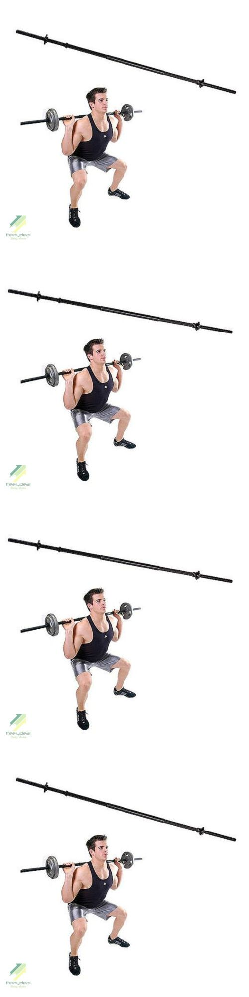 Barbells and Attachments 137864: Standard 5 Ft Golds Gym Weight Lifting Bar Fitness Exersize Workout BUY IT NOW ONLY: $47.64