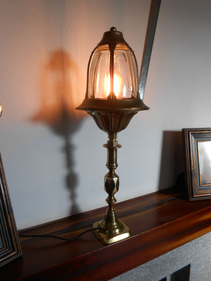 Victorian table lamp Eclectic lamp