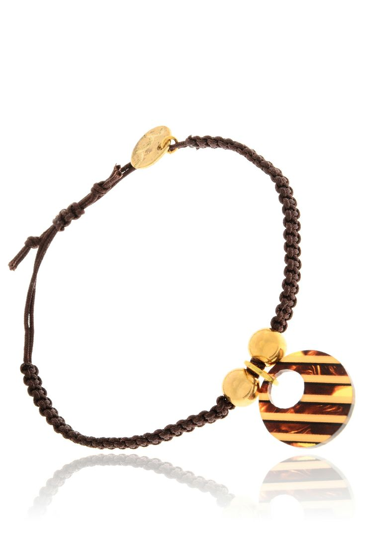 MANCOTÍ 	 MARIOLA Brown Friendship Bracelet   Price: € 30.00
