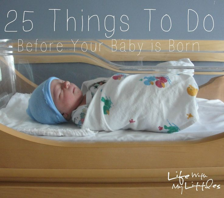 25 things to do before your baby is born
