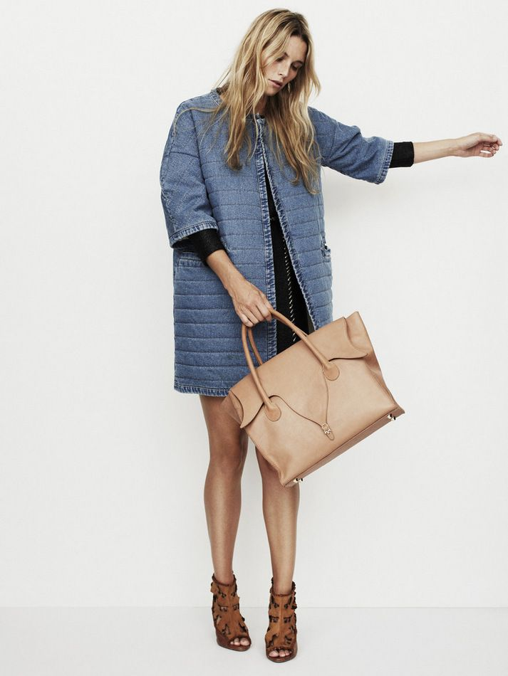 Play with size/volume. Tight dress under oversize coat - an element of surprise when you take it off! French Voguettes