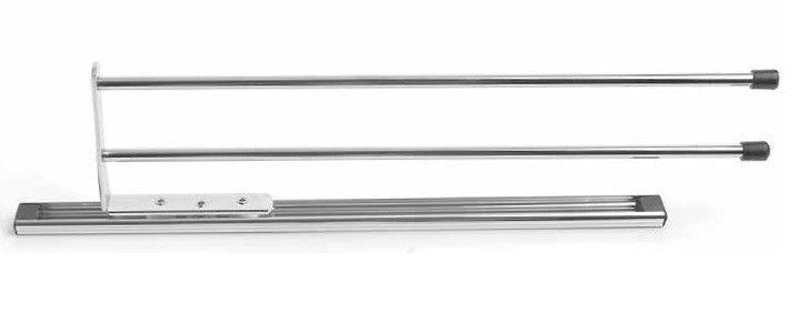 Telescopic Towel Slide/Pull out rail - Kitchen Storage