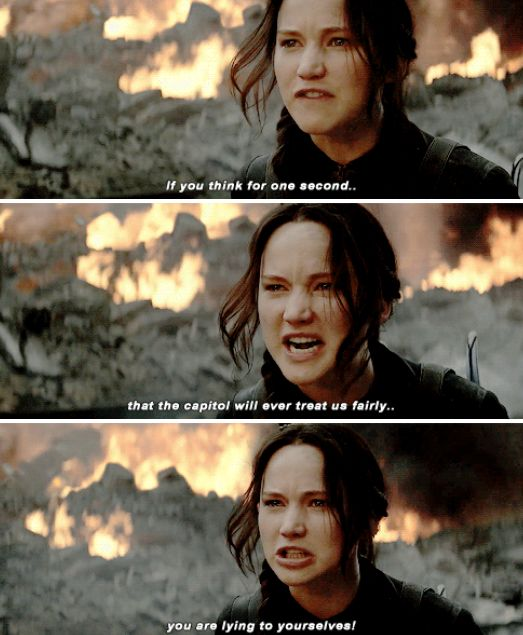 #Mockingjay I love that part is so powerful
