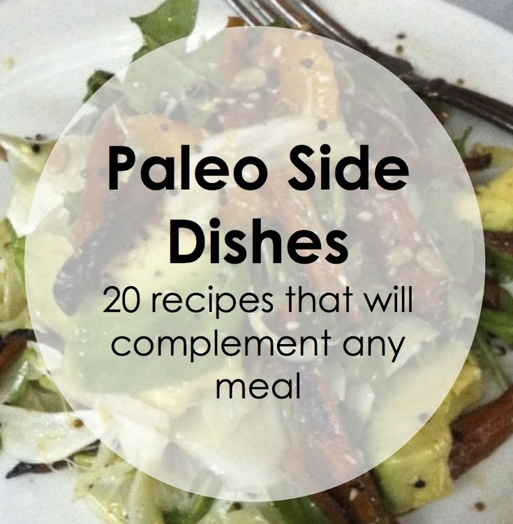 Paleo Pointers: Side Dishes
