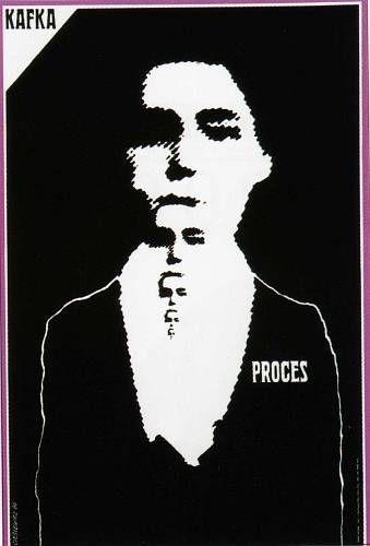 Roman Cieslewicz Proces kafka 1964