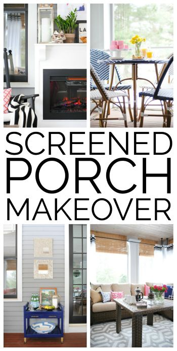 navy and pink screened porch sources