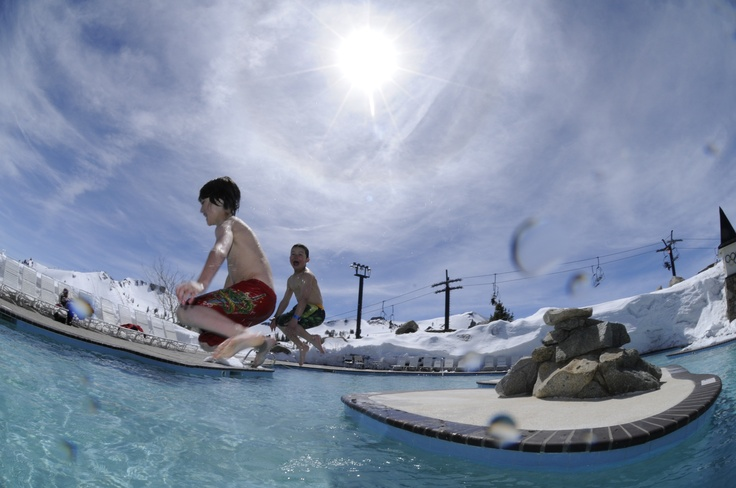 17 best images about family fun at squaw valley lake - High camp swimming pool squaw valley ...