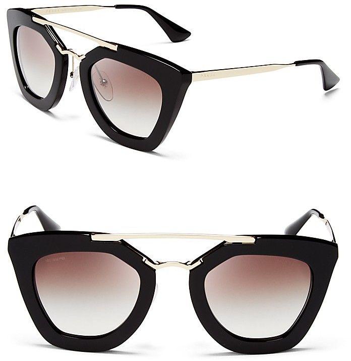 Prada Cat Eye Sunglasses on shopstyle.com
