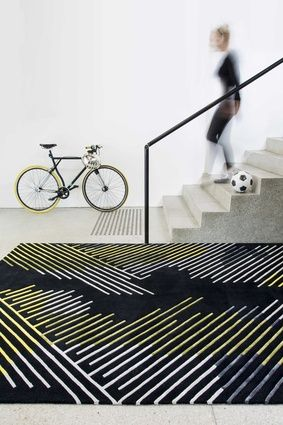 Minotu, part of the Bleux Neighbourhood collection from Designer Rugs.