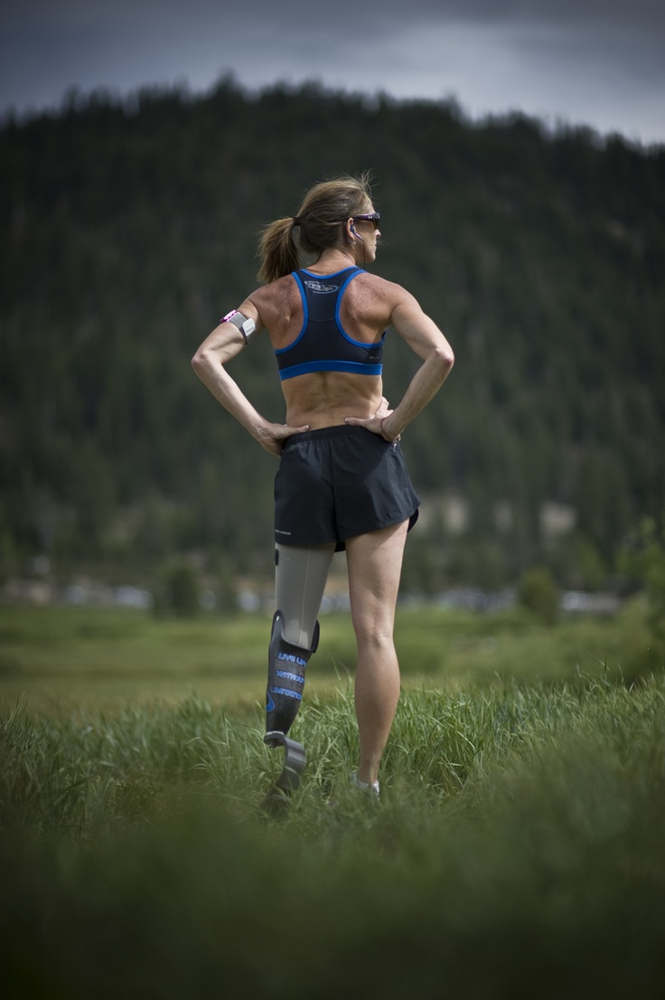 runner - sports - inspiring amputees