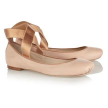 Leather Ballet Flats by Chloé