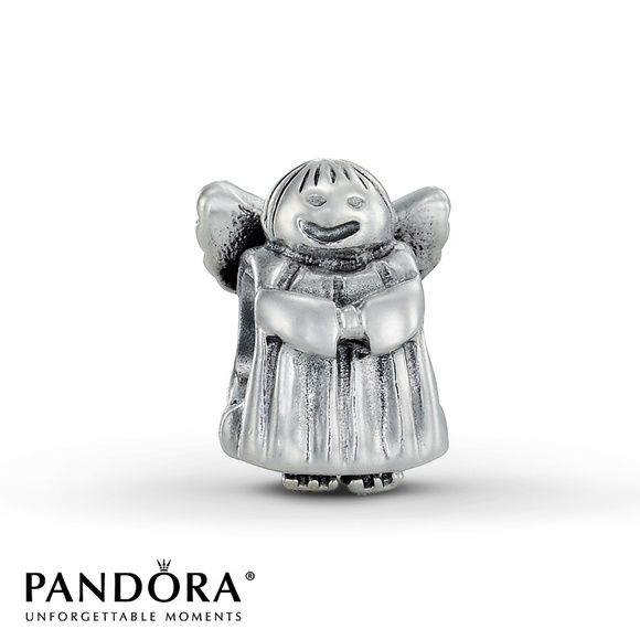 "PANDORA Angel Charm Sterling silver ""angel of hope"" charm. Authentic. Pandora Jewelry"