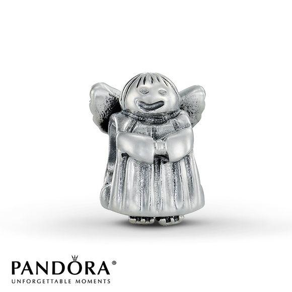 "PANDORA Angel Charm Sterling silver ""angel of hope"" charm. Authentic. Pandora Jewelry"
