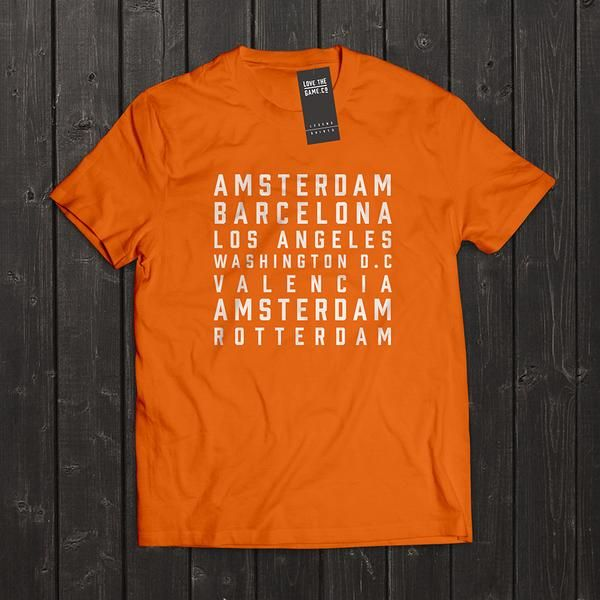 Johan Cruyff - Legend Shirt by Love The Game.