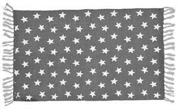 kludetæppe med stjerner