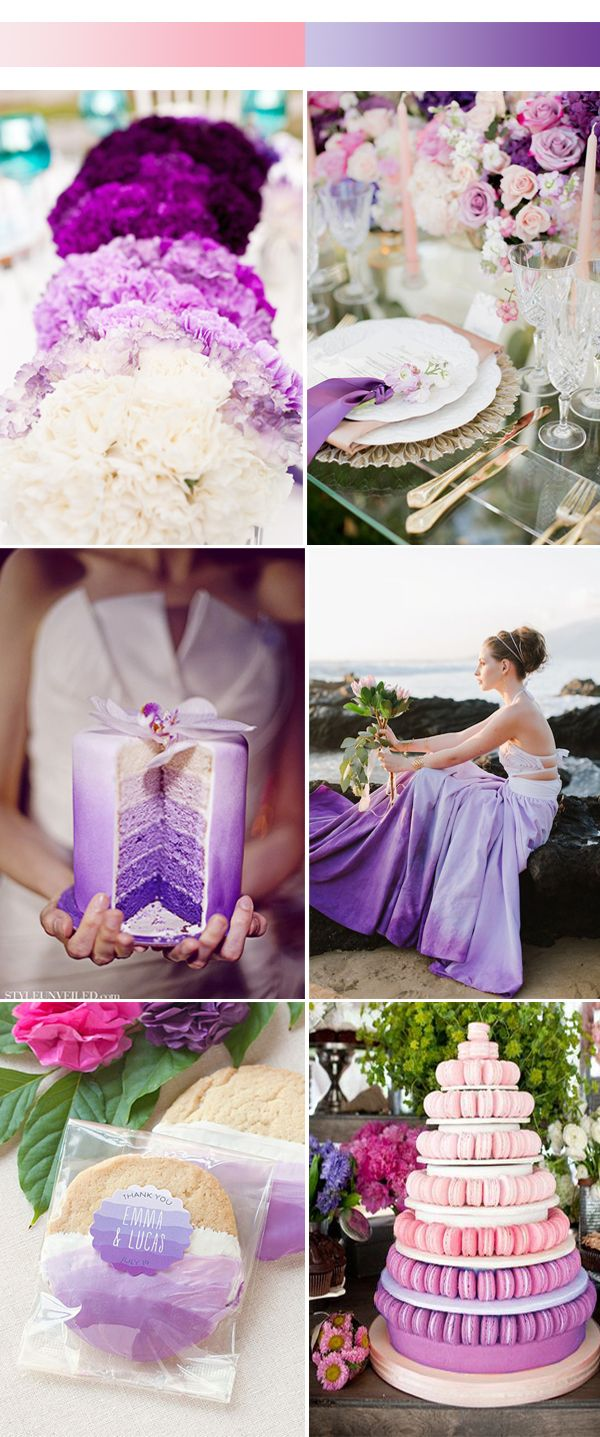 Purple spring wedding themes images for Top ten wedding themes