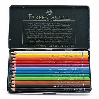 FABER-CASTELL Акварельные карандаши Albrecht Durer в наборах, купить недорого в Москве: цена, фото, отзывы