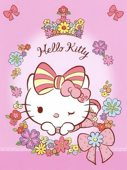 Hello Kitty with a bow