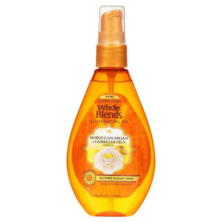 Garnier Whole Blends Moroccan Argan & Camellia Oils Extracts Illuminating Oil - 3.4oz